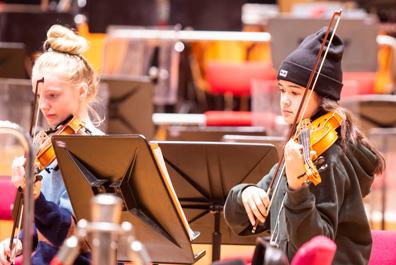 orkest repetitie Nederlands Philharmonisch Orkest